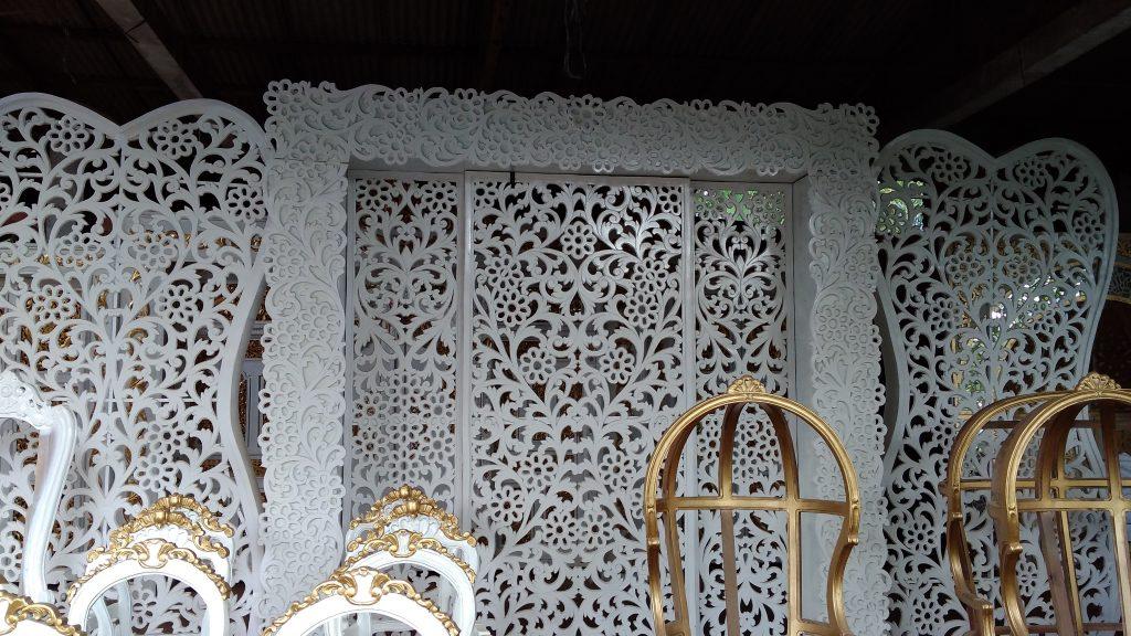 Dekorasi pengantin Material spon
