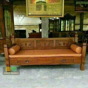 Kursi Bale Ukir / Sofa Teras Ukir