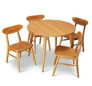 set kursi meja makan ropan untuk